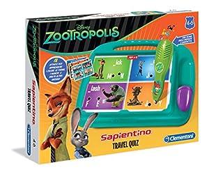 ClementoniTravel Quiz - Juego de Viaje (versión Italiana) Zootrópolis