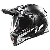 Helm LS2MX436Pioneer Trigger schwarz XXL Schwarz