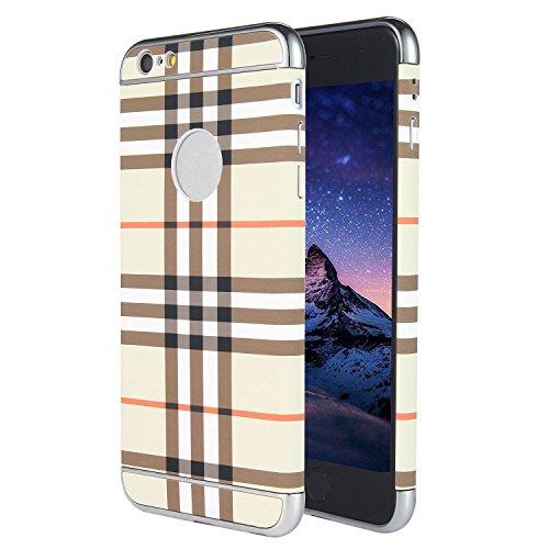 Preisvergleich Produktbild Kobwa iPhone 6s Plus/6 Plus Hülle, 3 in 1 Ultra Dünner Harter Anti-Kratzer Stoßfestes Elektrodengestell mit Beschichteter Oberfläche Ausgezeichneter Griff-Fall für Apple iPhone 6s Plus/6 Plus