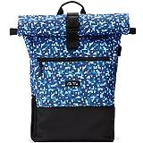 Ela Mo's Rucksack Damen | Schön und Durchdacht | für Uni Reisen Freizeit Job | mit Laptopfach & Anti Diebstahl Tasche | Blau