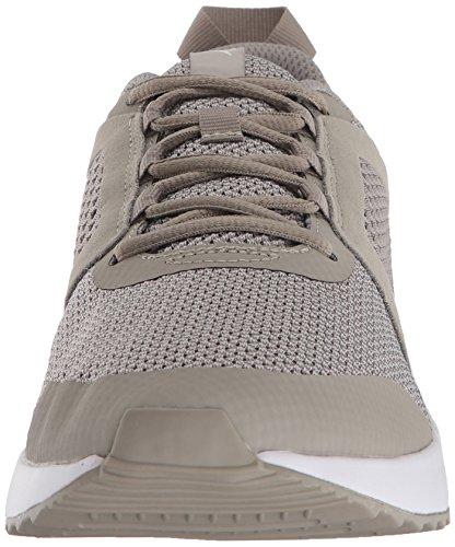 PUMA Men s Pacer Next Net Sneaker  Elephant Skin-Elephant Skin White  12 M US
