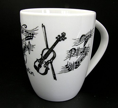 Tasse Geige, Geschenk für Geiger