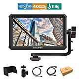 Lilliput A5 5 inch 1920x1080 HD 441ppi IPS Screen Camera Field Monitor 4K HDMI Input output Video for Canon Nikon Sony A7 A7R A7S III A9 DSLR Zhiyun Crane 2 M TILTA G2X DJI Ronin-S