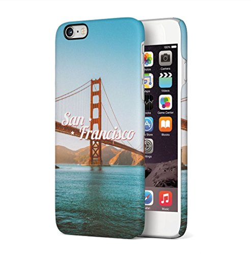 New York City Empire State Building Apple iPhone 6 / iPhone 6S SnapOn Hard Plastic Phone Protective Custodia Case Cover San Francisco