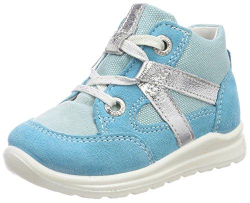 Superfit Baby Mädchen Mel Sneaker, (Türkis Kombi), 22 EU