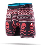 Stance Basilone Boxer Shorts Medium Valentine Bones Red