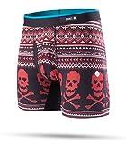Stance Basilone Boxer Shorts Medium Valentine Bones Red