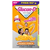 #6: Glucon D Mango Punch - 450 g (Extra 50 g)