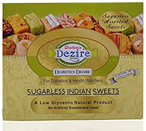 Diabetics Dezire Sugarless Assorted Sweets 250 grams