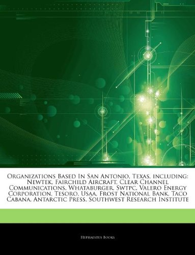 articles-on-organizations-based-in-san-antonio-texas-including-newtek-fairchild-aircraft-clear-chann
