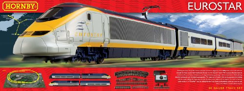Hornby R1071 Eurostar 00 Gauge Electric Train Set for sale  Delivered anywhere in Ireland