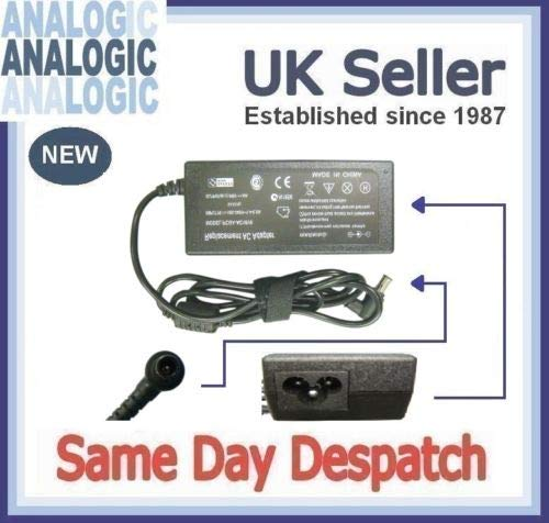 Analogic Sony Vaio VGN-TZ11XN/B Compatible Laptop Power AC Adapter Charger