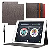 casefirst Apple iPad Pro 12.9 inch Wallet Case Apple iPad Pro 12.9 inch Case,Premium Design PU Leather & Soft TPU Built-in Card/Cash Slots,Wallet Case by (Coffee)