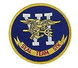 Écusson US Navy Seal Team Six VI, jaune