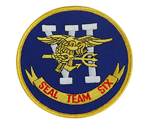 Originaler US Navy Seal Team VI Six Military Zarte Patch, (Team Alpha Kostüm)