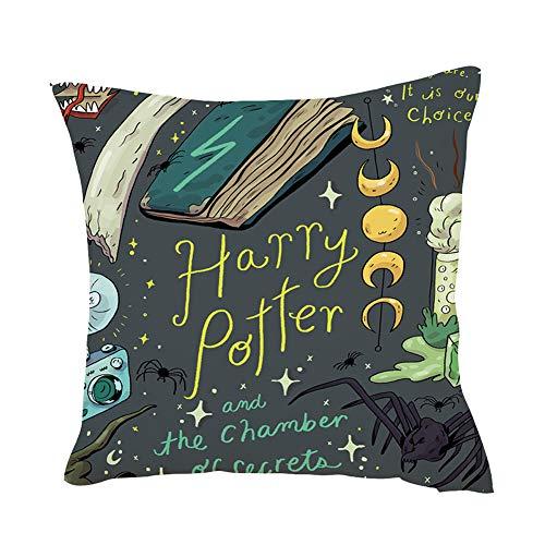 Surenhap Funda Almohada Harry Potter Design