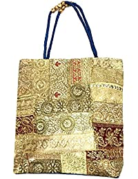 Shubhangi Women's Shoulder Bag (Jaipuri Embridered Handicraft Traditional Handbags,stylish Traditional Bag,Multi-Coloured... - B079KS46N5
