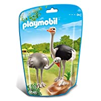 Playmobil  6646 City Life Zoo Ostriches with Nest(Multi-color)