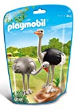 Playmobil  6646 City Life Zoo Ostriches With Nest(Multi Color)