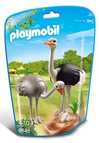 PLAYMOBIL - Familia de avestruces con Nido 6646