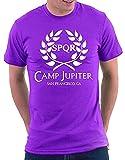 Photo de T-Shirt à Manches Courtes Casual Fit Fit pour Hommes du Camp Jupiter pour Hommes par wwoman