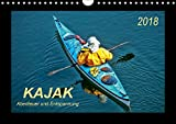 Kajak - Abenteuer und Entspannung (Wandkalender 2018 DIN A4 quer): Kajak, wilde Flüsse bezwingen oder ruhig über das Wasser gleiten - Abenteuer und ... Sport) [Kalender] [Apr 01, 2017] Roder, Peter