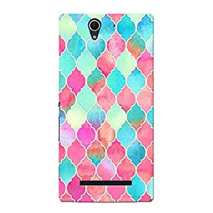 Mobi Elite Hard Printed Cover for Sony Xperia C3