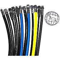 Uniflex/BtS Tubi di respirazione regolatore - Miflex - blu, Tubo Flessibile UNF 3/8