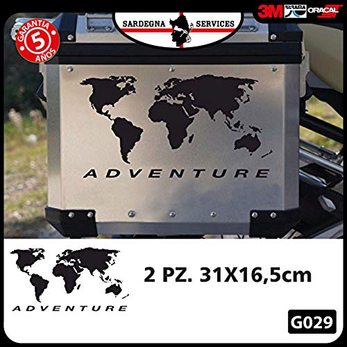 2 Pegatinas Globo R 1200 1150 1100 GS Adventure
