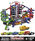 Majorette- Simba Super City Garage, Area Gioco su 7 Livelli, 2 Ascensori, Multicolore, 3467452051658