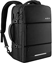 AMBOR 17.3inch Travel Laptop Backpack, 40L Flight Approved Carry-On Backpack for Men and Women,TSA Friendly Tr