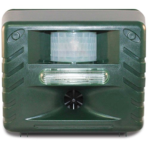 yard-sentinel-strobe-ultrasonic-animal-outdoor-pest-bird-control-repeller-with-motion-detector-strob