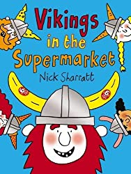 Vikings in the Supermarket (Dfbees) by Nick Sharratt (2016-03-03)