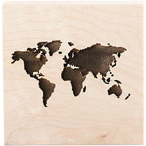 Clearsnap Teresa Collins montado sello (7,6x Continentes, acrílico, multicolor