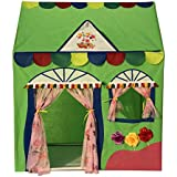 Homecute Hut Type Kids Toys Jumbo Size Play Tent House for Boys and Girls (Green)