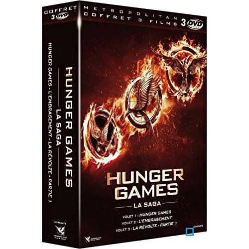 Coffret trilogie hunger games