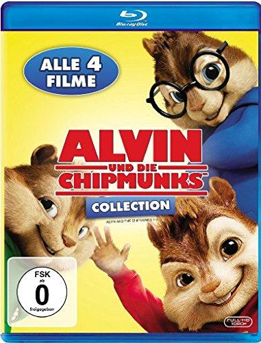 Alvin und die Chipmunks Collection - Teil 1-4 [Blu-ray]