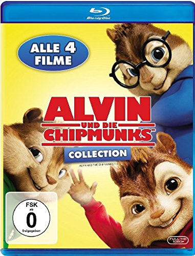 Alvin und die Chipmunks Collection - Teil 1-4 [Blu-ray]