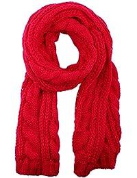 172e4797ed5 Kissing U Les femmes d hiver Twist chaud laine tricotée Écharpe Blanket  solides ...