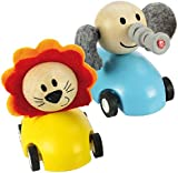 Bigjigs Toys Pull Back Racing Animal