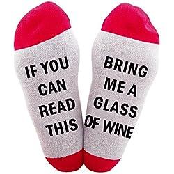 I migliori calzini di Natale del regalo calzini casuali delle donne calzini di cotone calza il regalo di Natale per amanti, amici, mamma e padre uomini del tubo Calzini