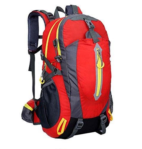 Zaino Da Attacco Tattico 40L Impermeabile Zaino Xin.S Bug Out Zaino Militare Trekking All'aperto Campeggio Escursioni. Multicolore Pink