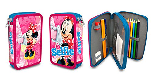 Minnie Mouse- Plumier Doble (Kids Euroswan MI16108)