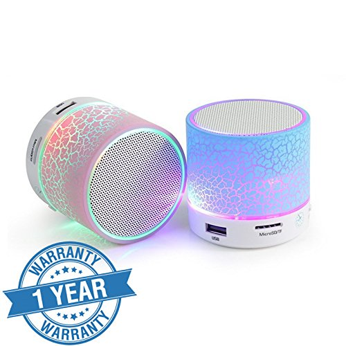 Captcha (Top Selling) Latest Wireless LED Bluetooth Speakers S10 Handfree...