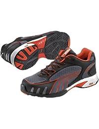 Puma Fuse Motion Red Wns Low S1 HRO SRC, Puma - Zapatos De Seguridad de tela mujer