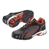 Puma Safety Shoes Fuse Motion Red Wns Low S1 HRO SRC, Puma 642870-805 Damen Sicherheitsschuhe, Grau (grau/rot 805), EU 35