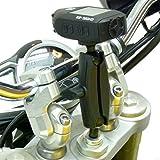 BuyBits 15-17mm Gabel Vorbau Motorrad Fahrrad Video Kamera Halterung für Drift GHOST