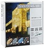 System LED 465-16 Net LED 200 x 100 cm Extra, warmweiß