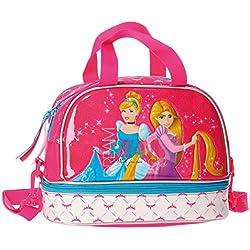 Disney Le Principesse Beauty Case da Viaggio Adattabile al Trolley per Make Up per Ragazza Bambina Portatutto Idea Regalo