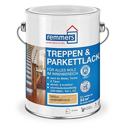 Remmers Treppen- und Parkettlack (750 ml, farblos seidenmatt)